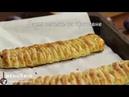 Слойка со сливами и сливочным сыром/Puff Pastry Braid Recipe with plums.