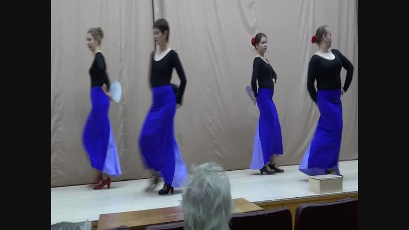 Мы танцуем фламенко в военном госпитале