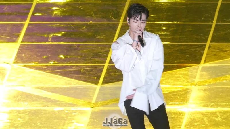180801 아이콘 준회 직캠 (iKON 구준회 Focus) -벌떼(B-DAY) (Fancam) By.JJaGa !KMF 코리아 뮤직 페스티벌 @고523