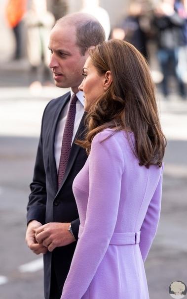 Кейт Миддлтон и принц Уильям: первое совместное появление пары после декретного отпуска