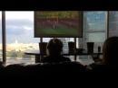 Антикинотеатр на 29 эт башни Федерация Восток Москва Смотрим футбол бокс за Россию