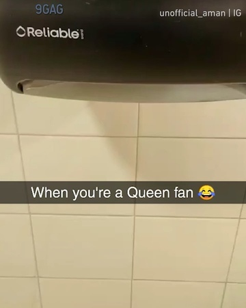 """9GAG: Go Fun The World on Instagram: """"When you're a Queen fan Congrats to @unofficial_aman on becoming our 9GAGFunOff Week 4 winner! - Submit your..."""