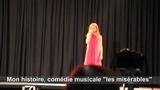 Lou qui chante au Concours de la voix d'or des Corbi