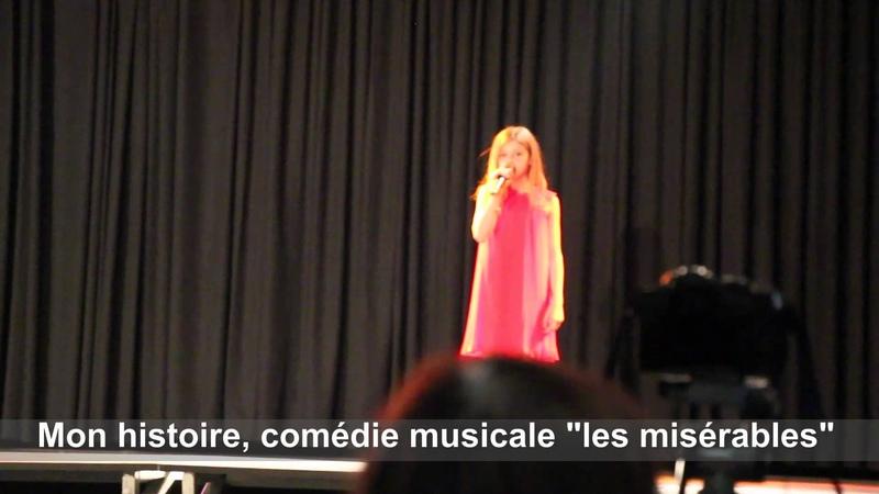 Lou qui chante au Concours de la voix dor des Corbières