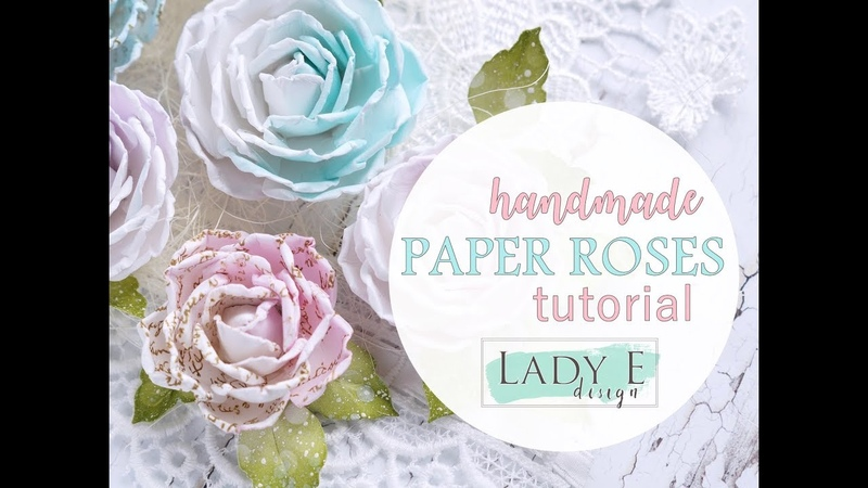 Handmade Paper Roses Step by step