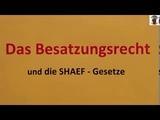 Das Besatzungsrecht und die SHAEF Gesetze