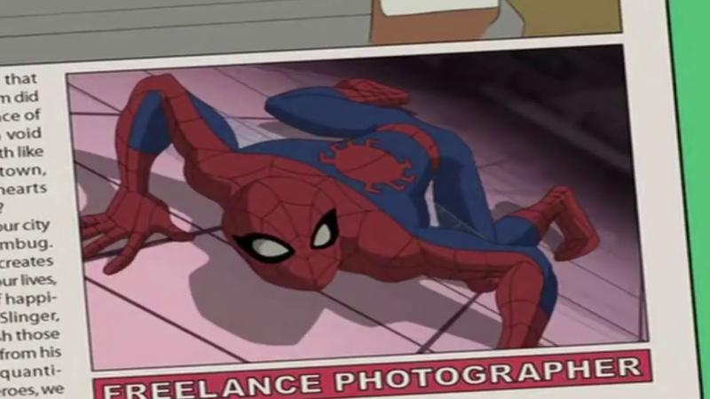 Заставка мультсериала Грандиозный Человек Паук 2008