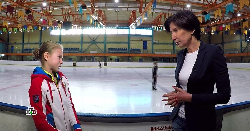 «Мотивируют не делать»: Трусова и Тутберидзе рассказали НТВ, что стоит за четверными прыжками