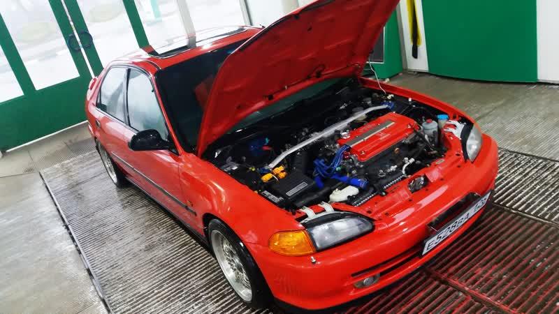 Honda civic EG9 свап B16/B20 S9bLSD