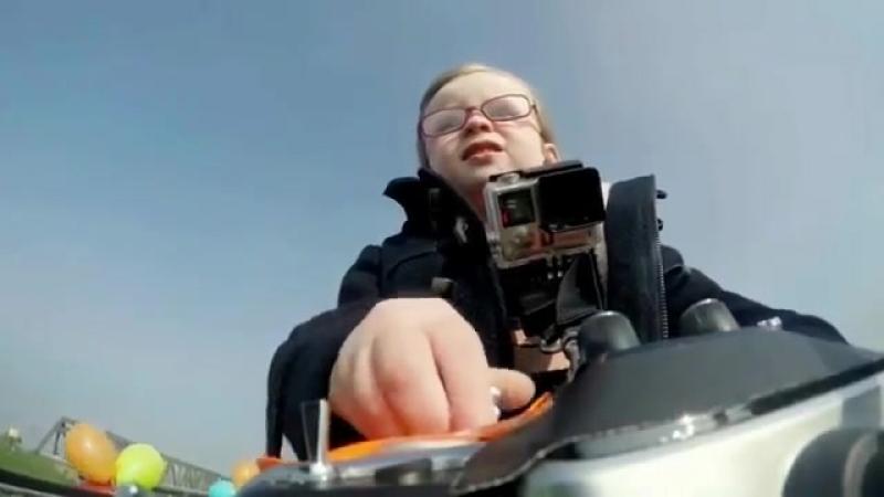 Crash test, Emilia 4 años de conducción de automóviles