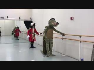 Funny Ballet Class