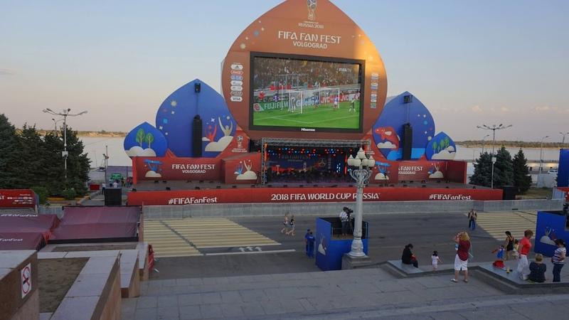 Слайдшоу из фотографий с футбольного мундиаля Волгоград 10 июля 2018 года » Freewka.com - Смотреть онлайн в хорощем качестве