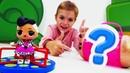 Мультики для девочек - Распаковка капсулы ЛОЛ - Видео про кукол