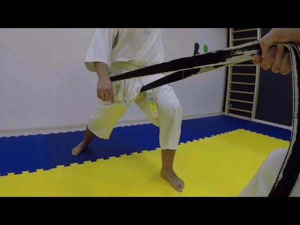 Hip movement drills for Shotokan karate