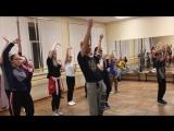 Мастер класс от руководителя танцевальной студии Amfiks Александра Бурцева