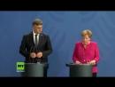 Rechtsstaat durchsetzen - Merkel gibt Statement zu Tod und Protesten in Chemnitz