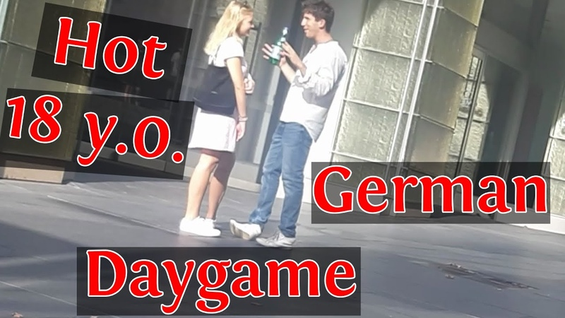 Hot Blonde 18yo German Girl Daygame Infield Complete