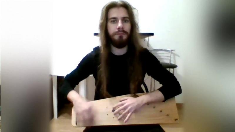 Импровизация на гуслях Новичок от Ильи Барсукова