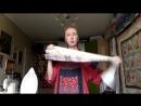 Лоскутный эфир 79 Как сшить Лоскутное одеяло с феечками Часть 9 Второй вариант красивой каймы