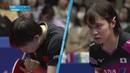 2019 ITTF ATTU Asian Cup 1/4 Zhu Yuling vs Miu Hirano