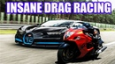 {Top 7 GREATEST DRAG RACES} SUPERCARS Vs SUPERBIKES in the world