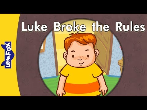 'u e' words Luke Broke the Rules Level 3 By Little Fox