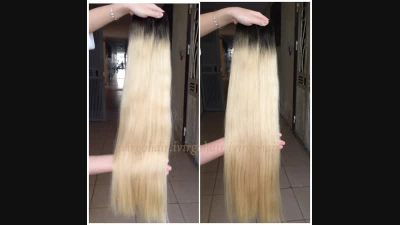 Weft ombre