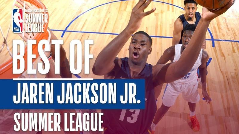 Best Of Jaren Jackson Jr. | 2018 MGM Resorts Summer League