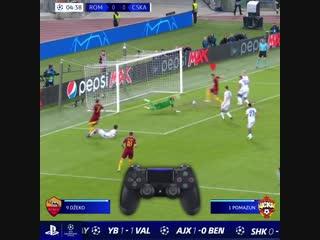 UCL | Как забить гол в стиле Пеллегрини и Эль Шаарави