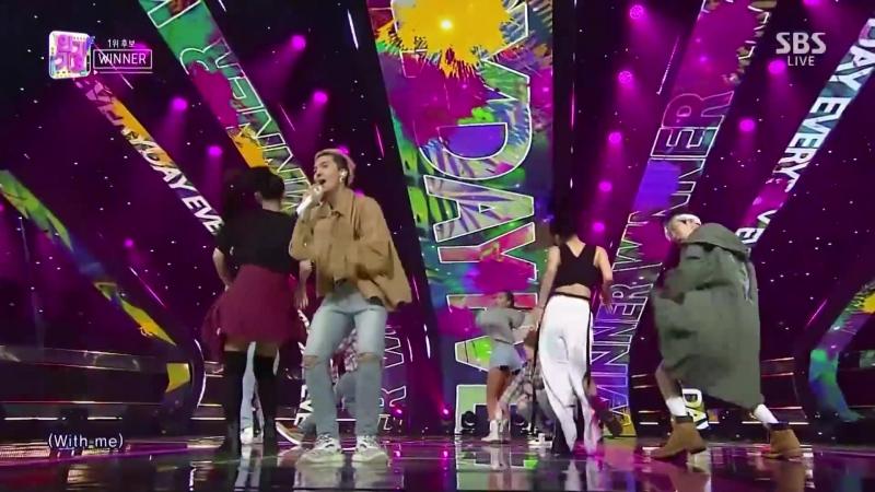 WINNER - 'EVERYDAY' SBS Inkigayo