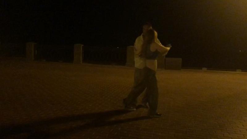 Танго на набережной с Егором