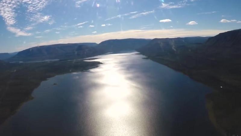 Красоты севера. Диксон. Плато Путорана. Бескрайний Таймыр. Озера, реки, Лама, Далдыкан, природа