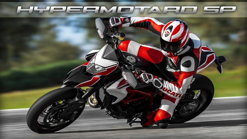 New Ducati Hypermotard - license to thrill.