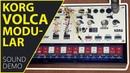 Korg Volca Modular Sound Demo (no talking)