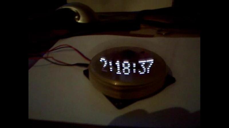 Propeller clock Avto