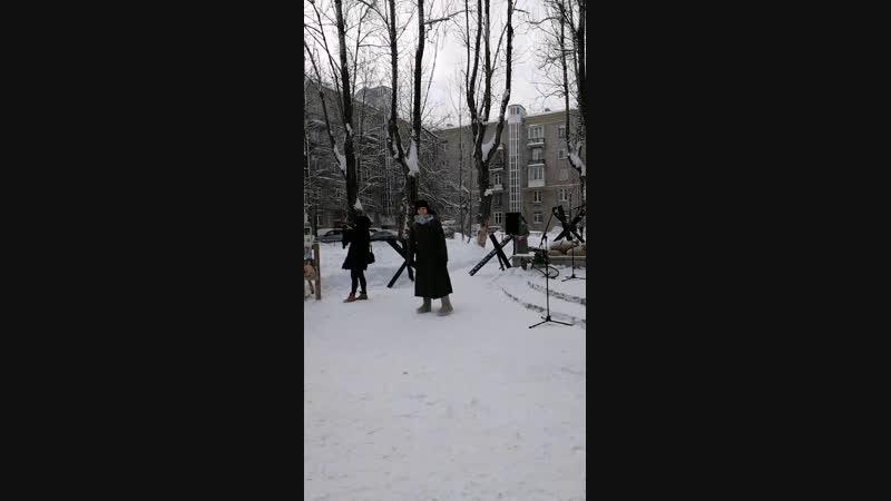 Открытие литературного митинга Голос блокадного Ленинграда