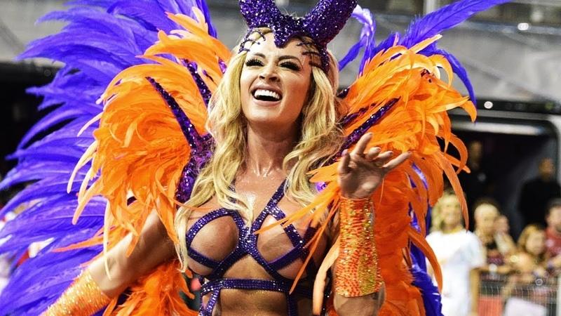 São Paulo Carnival 2018 [HD] - Floats Dancers   Brazilian Carnival   The Samba Schools Parade