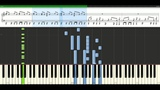 Culture Beat - Mr. Vain Piano Tutorial Synthesia