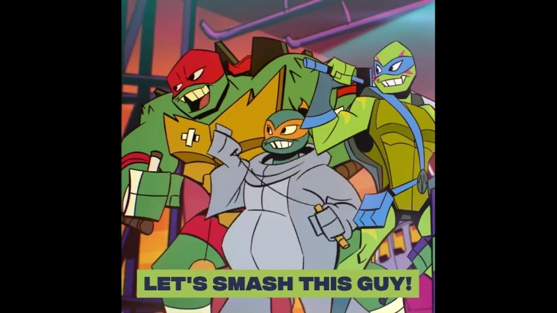 Teenage Mutant Ninja Turtles - Raph vs. Korra