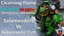 Salamanders VS Genestealer Cult - 8th Edition Warhammer 40K Batrep - 1,750pts