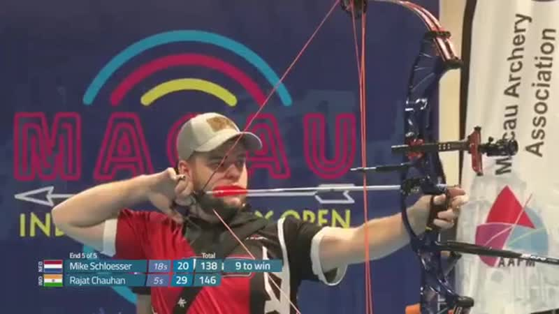 First win of the Indoor archery season for world
