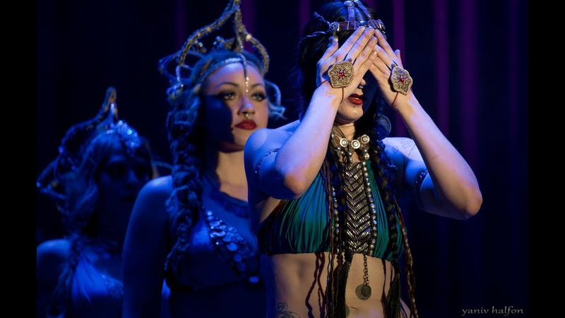 Zoe Jakes Coven performs Tribal Fusion Bellydance at The Massive Spectacular