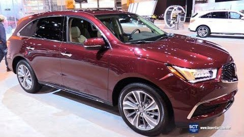 2018 Acura MDX - Exterior and Interior Walkaround - 2018 Chicago Auto Show