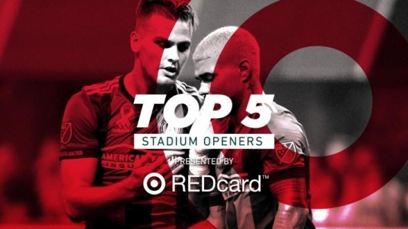 ТОП 5 матчей открытий стадионов MLS