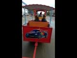 Поездка на вагончике)))