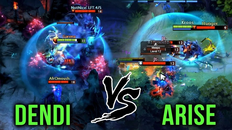 Dendi Legendary Magnus Player vs Arise Best Magnus in Dota EPIC Battle Dota 2