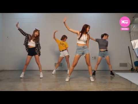 올더케이댄스 BEHIND 모모랜드 뱀BAAM 걸그룹 팀 UNI 커버 비하인드 연습영상