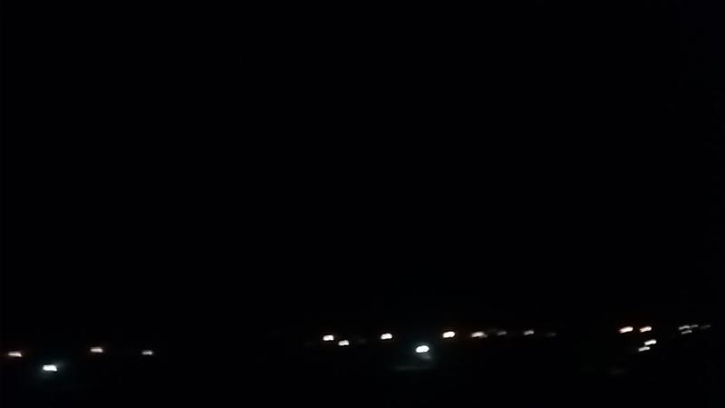 Ночная гроза в стороне Севастополя (вид из Заозерного, Евпатория)