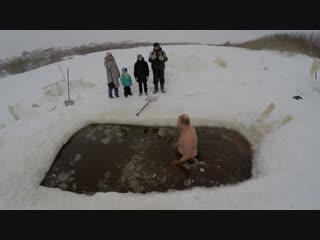 Купание Моржей Усть-Сысольска)))) ч.4