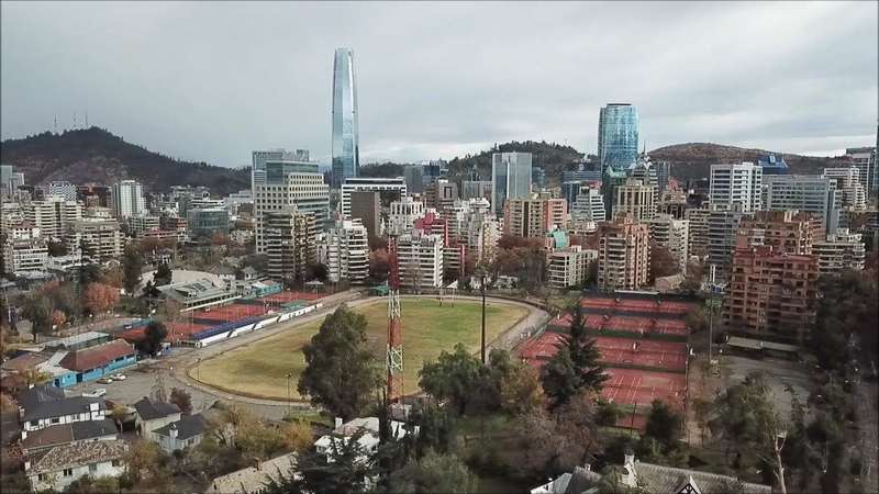 Santiago is the most beautiful and richest in Latin America